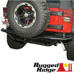 Rugged Ridge JK Wrangler Tubular Rear Bumpers