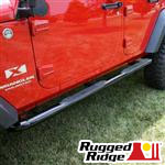 "Rugged Ridge™ JK Wrangler 3"" Side Tube Steps"