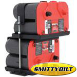 Smittybilt Dual Battery Tray