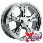 Pro Comp Series 6088 Chrome Jeep Wheels
