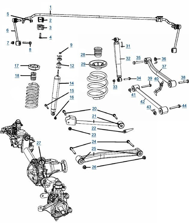 jeep jk wrangler suspensions