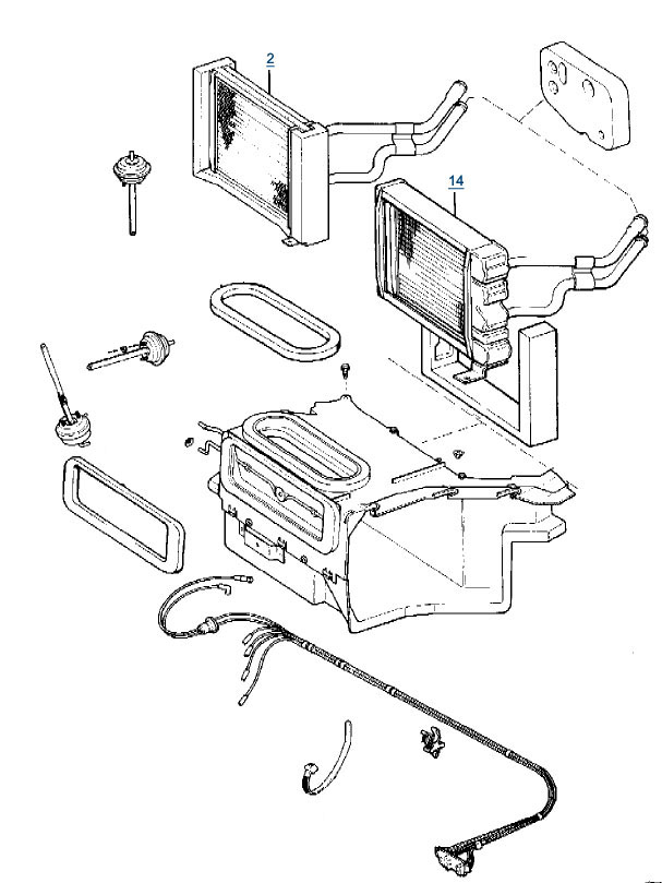 jeep wrangler heater box diagram  jeep  free engine image