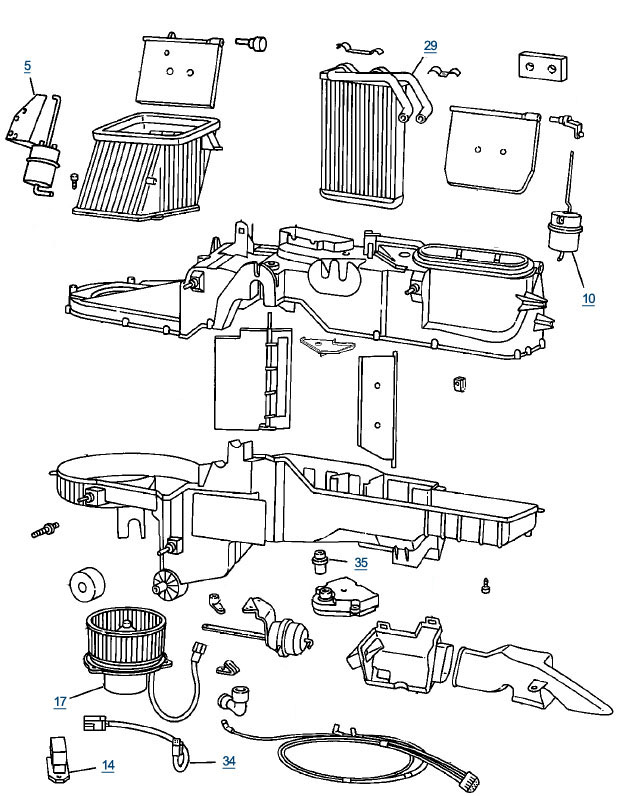 2002 Jeep Cherokee Blower Motor Wiring Diagram