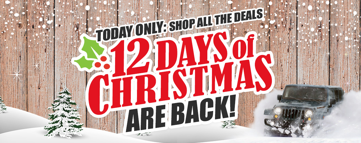 4WD's 12 Days of Christmas for Jeep Parts and Accessories
