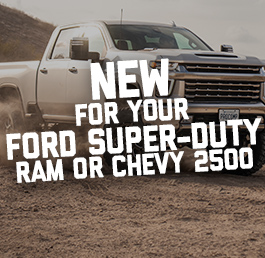 New Products for Your For Ford, Super Duty Ram, Or Chevy