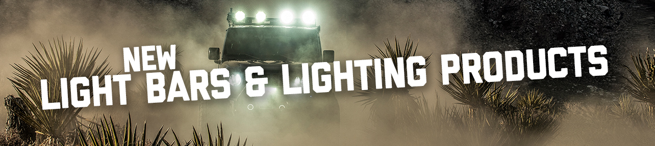All New Light Bars and Lighting Products