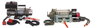 Electric vs Hydraulic Winches