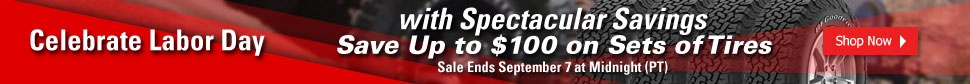 Celebrate Labor Day with Spectacular Savings