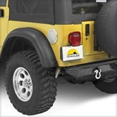 Yellow Jeep with Bestop Products
