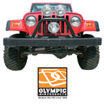 Olympic Jeep Bumpers and Rock Sliders for Jeep JK Wrangler parts