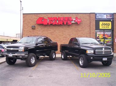 Chevy, Dodge and 4 Wheel Parts