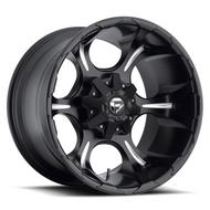 MHT Fuel Offroad Dune D523 Black & Milled Wheels
