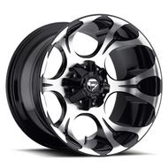 MHT Fuel Offroad Deep Lip Series Dune D524 Machined Black Wheels