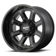 Moto Metal MO984 Matte Black with Gloss Black Inserts Wheels