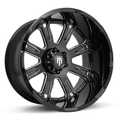 American Truxx AT154 Bomb Black / Milled Wheels