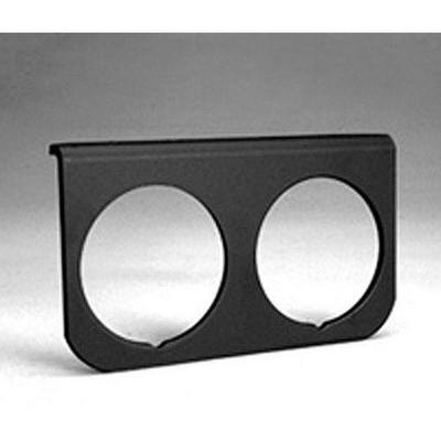 Auto Meter Mounting Solutions Black Aluminum Gauge Panel