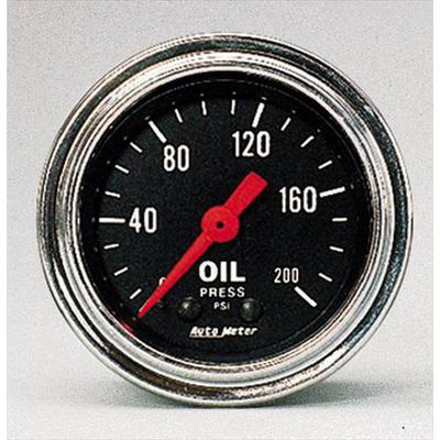 Auto Meter Traditional Chrome Electric Oil Pressure Gauge