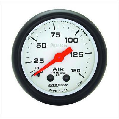 Auto Meter Phantom Mechanical Air Pressure Gauge