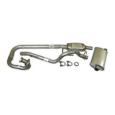 Crown Automotive Muffler and Tailpipe Kits