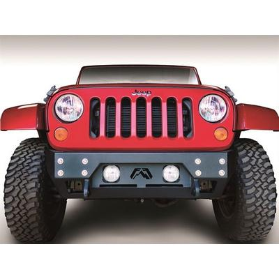 Fab Fours Front Full Metal Jacket Stubby Winch Bumpers