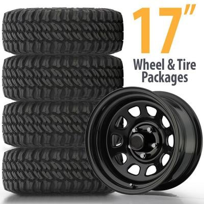315 70r17 In Inches >> Genuine Packages 17 Inch Wheel And Tire Packages 4wd Com
