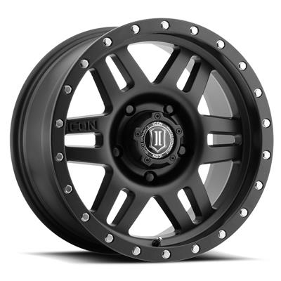 Icon Vehicle Dynamics Six Speed Series Aluminum Wheels