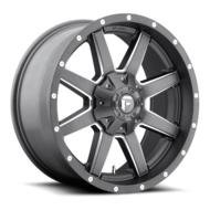 MHT Fuel Offroad Maverick D542 Anthracite & Milled Spoke Wheels