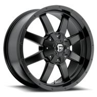 MHT Fuel Offroad Frontier D545 Matte Black Wheels