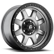MHT Fuel Offroad Trophy D552 Matte Anthracite w/ Black Ring Wheels