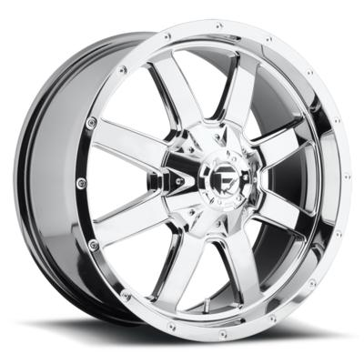 MHT Fuel Offroad Frontier D543 Chrome Wheels