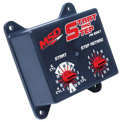 MSD Start And Step Timing Retard Control