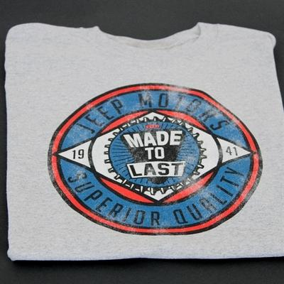 Old Toledo Brands Made to Last Jeep T-Shirts