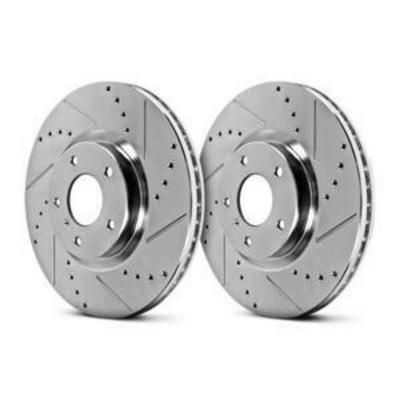 Power Stop Evolution Peformance Drilled and Slotted Rotors