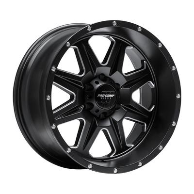 Pro Comp 63 Series Recon Satin Black Milled Wheels
