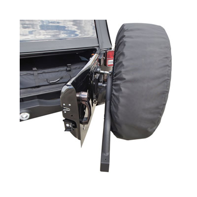 Rampage Recovery Rear Bumpers with Spare Tire Carriers