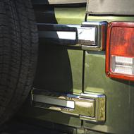 Rugged Ridge Tailgate Hinge Covers