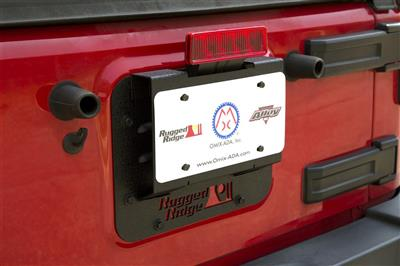 Rugged Ridge Tire Carrier Delete Plates