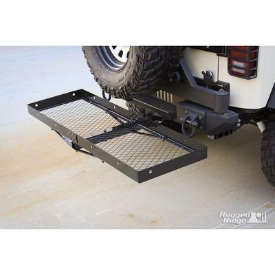 Rugged Ridge Receiver Hitches with Cargo Rack