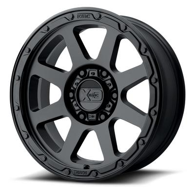 KMC XD Series XD134 Addict 2 Matte Black Wheels
