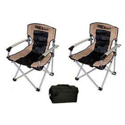 4WD ARB Camping Chairs and AOC 12-pack Cooler PAK - CAMPPKG1 CAMPPKG1