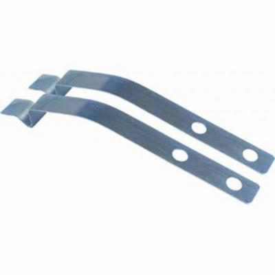 Armadillo Door Check Strap Keepers (Black) - 41199-S 41199-S