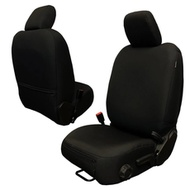Bartact Base Line Performance Series Front Seat Covers (Black) - JLBC2018F2B