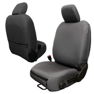 Bartact Base Line Performance Series Front Seat Covers (Graphite) - JLBC2018F2G