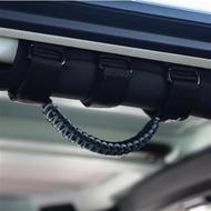 Bartact Paracord Grab Handle Roll Bar (Gray) - TAOGHUPBG