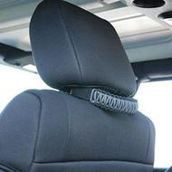 Bartact Paracord Head Rest Grab Handles (Gray) - TAOGHHPBG