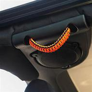 Bartact Paracord Rear Side Grab Handles (Orange) - TAOGHRPBN