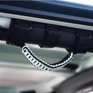 Bartact Paracord Roll Bar Grab Handles (White) - TAOGHUPBW