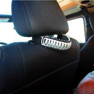 Bartact Paracord Head Rest Grab Handles (White) - TAOGHHPBW
