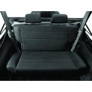 Bestop Trailmax II Fold and Tumble Rear Seat (Black) - 39440-01