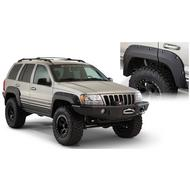 Bushwacker Cut-Out Style Grand Cherokee Rear Fender Flares (Paintable) - 10072-07